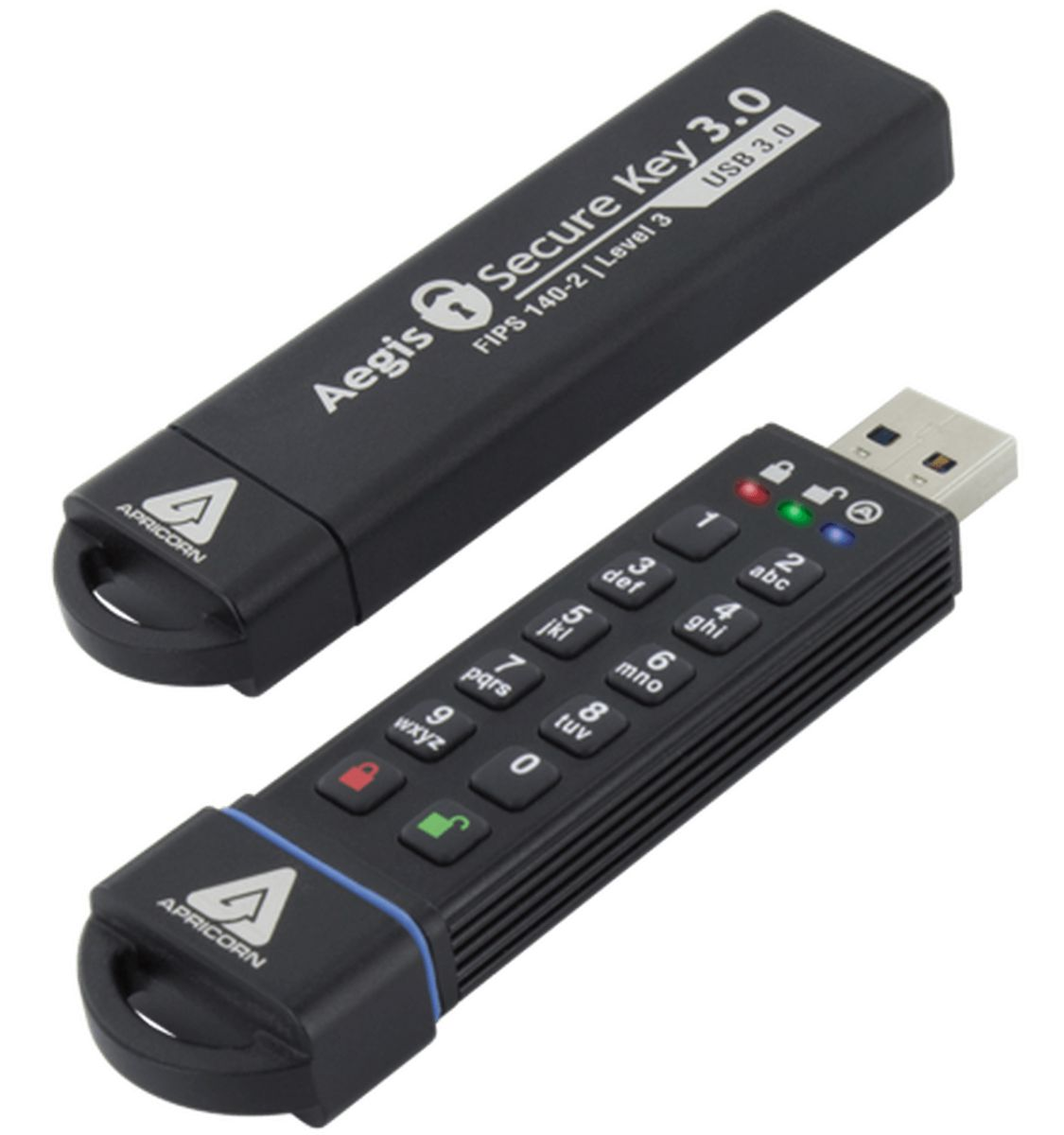 apricorn ask3 fips 30gb usbstick