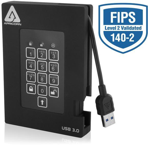 apricorn padlock fortress 1tb fips