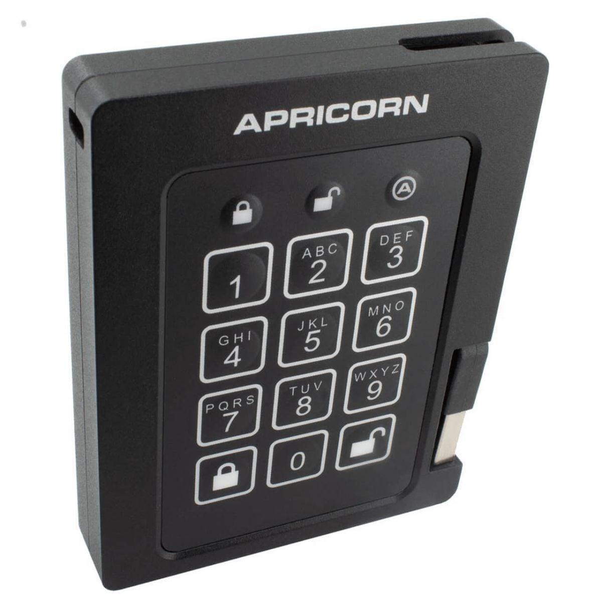 apricorn padlock secured ssd 2tb