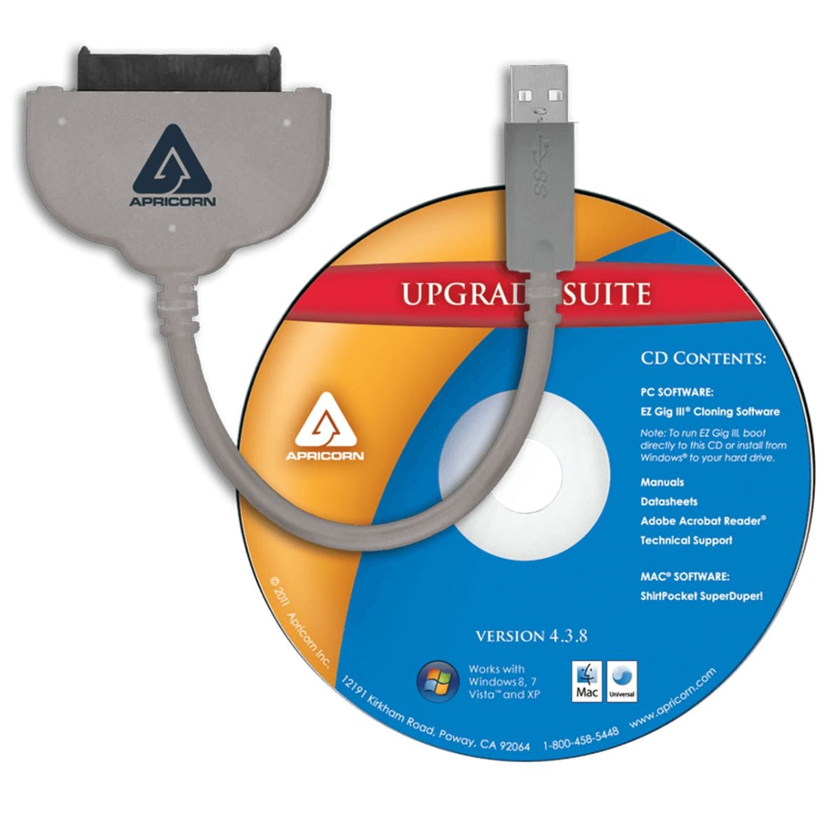 clone pc upgrade kit sata usb wire with 25 sata