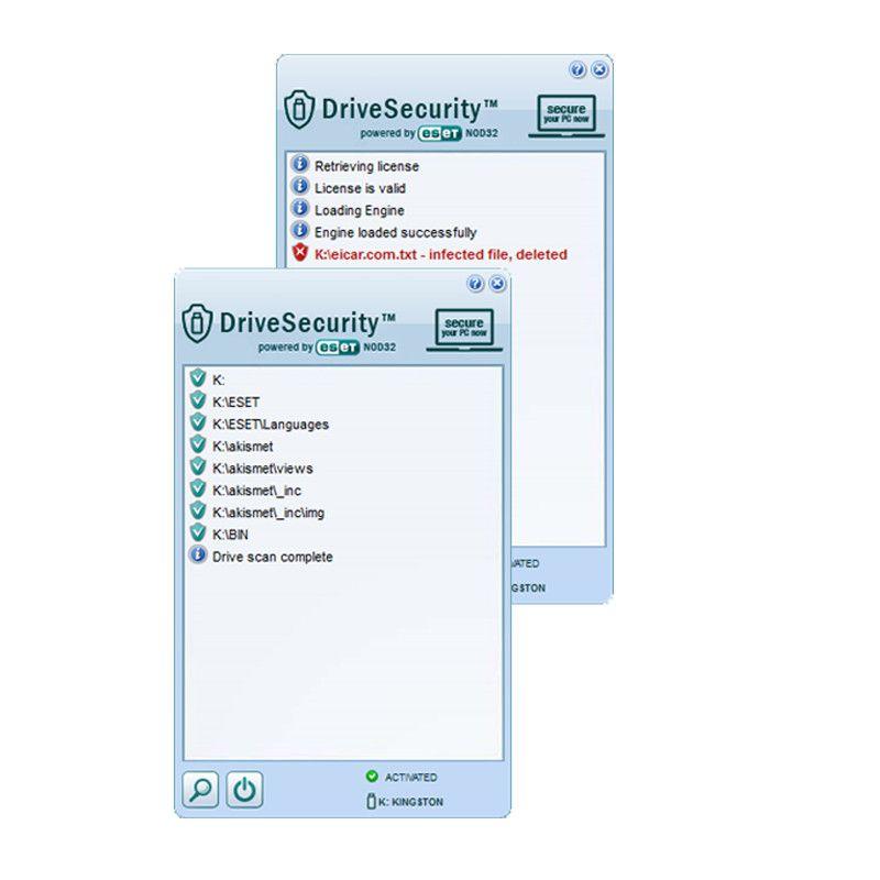 drivesecurity antivirus met eset nod32