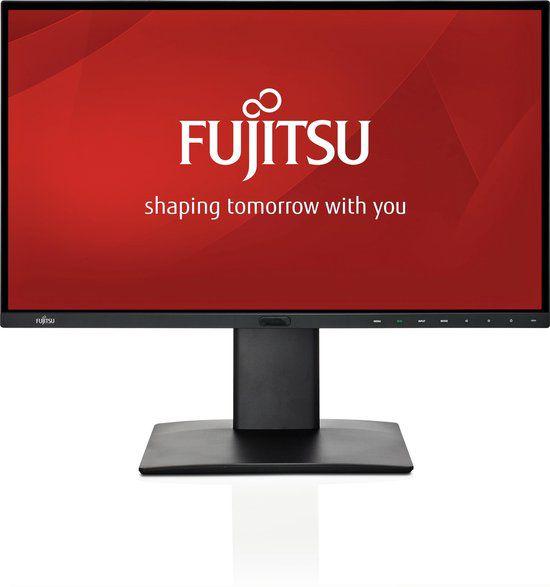 fujitsu 27 pline monitor met afwezigheidsbeveiliging