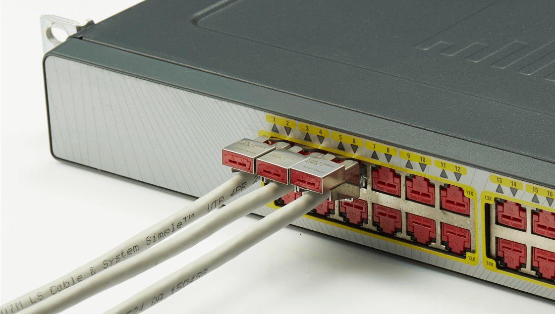 lan cable lock plus