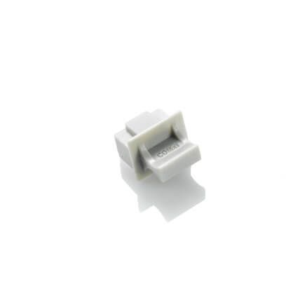 rj45 dust cover gray