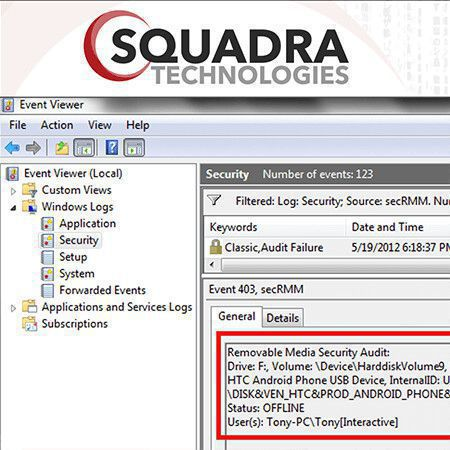 secrmm data loss prevention dlp software 5001 10000 computers