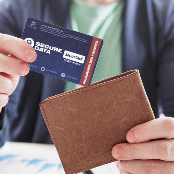 securecard credit card wallet protection card