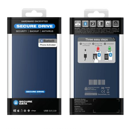 securedrive bt 1 tb hdd