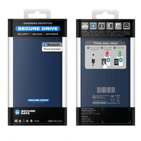 securedrive bt 500 gb hdd