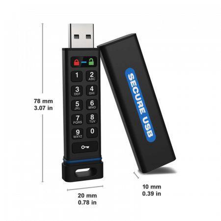 secureusb keypad 128gb usbstick