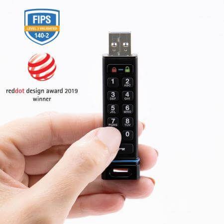 secureusb keypad 8gb usbstick