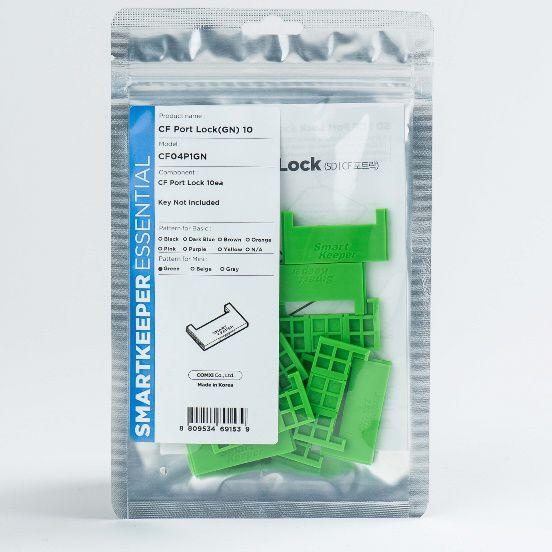 smart keeper essential cf port lock groen