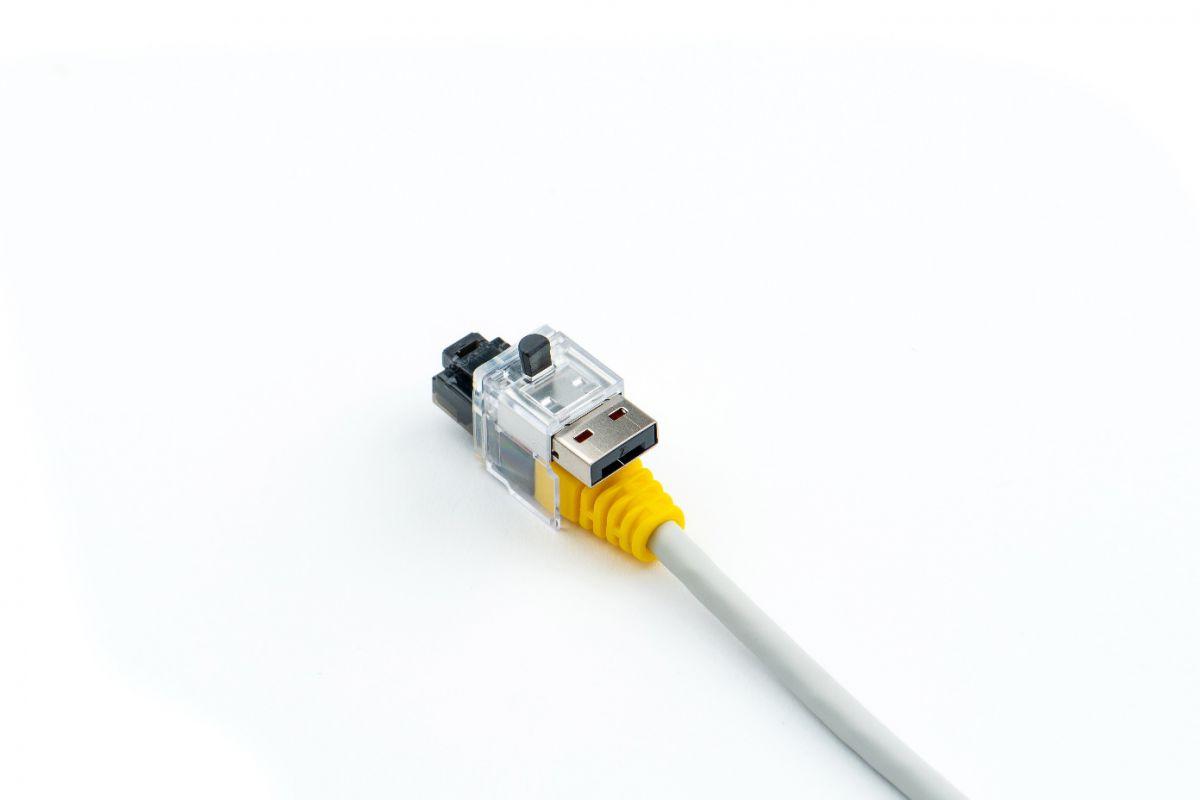 smart keeper essential lan cable lock black 12