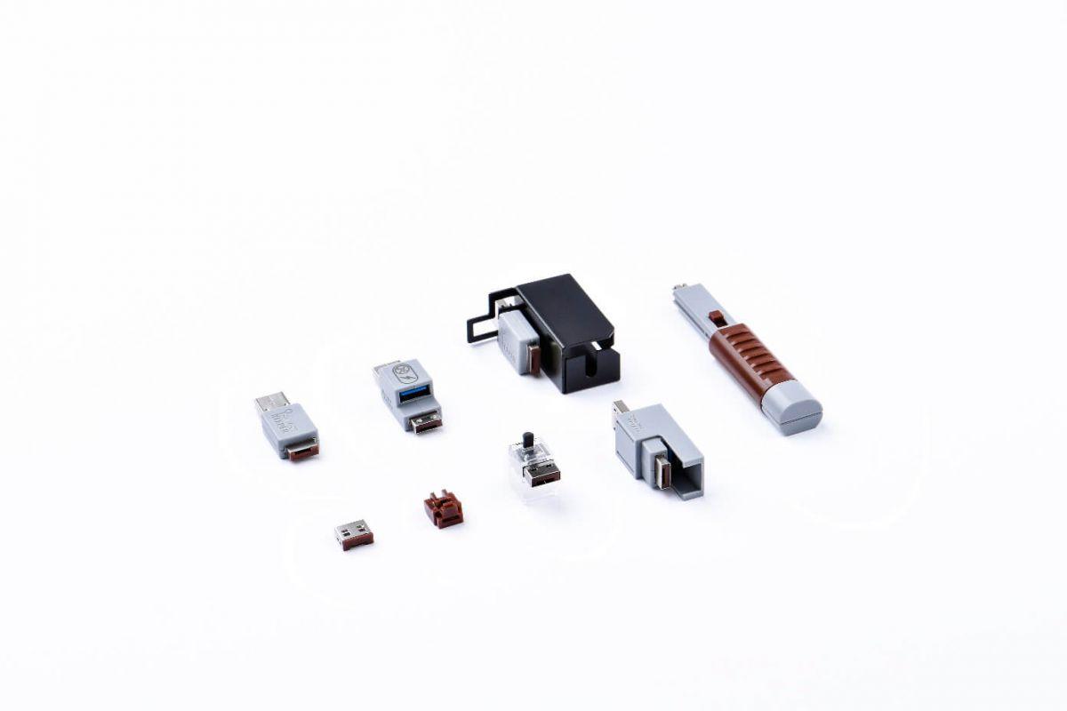 smart keeper essential lock key basic brown