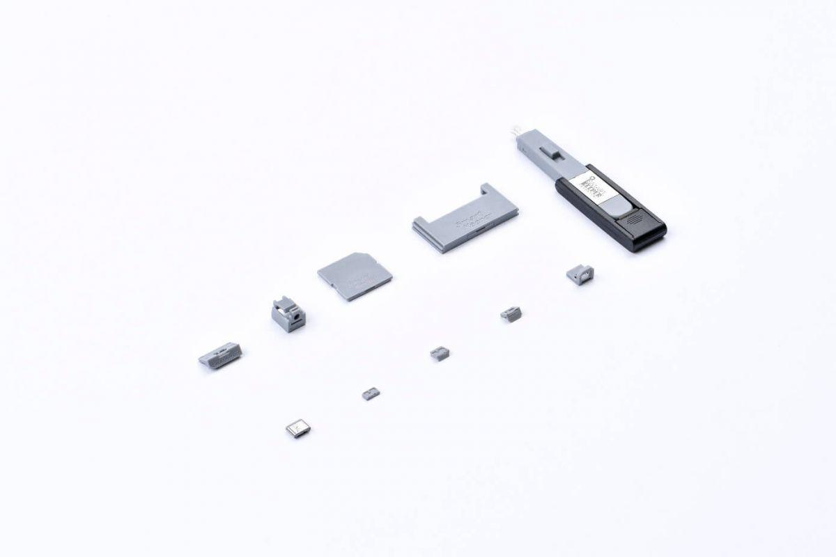 smart keeper essential lock key mini gray