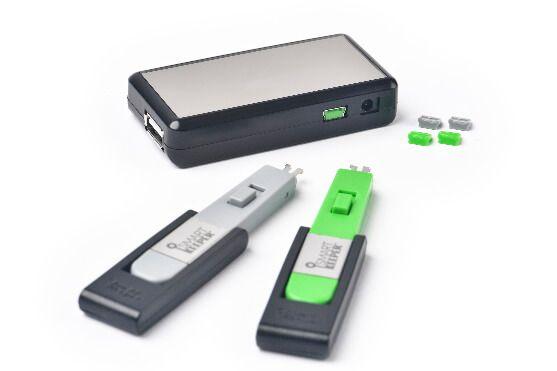 smart keeper essential mini usbb port lock grijs lock key mini grijs