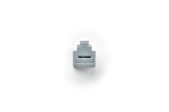 smart keeper essential rj11 port lock gray lock key mini gray