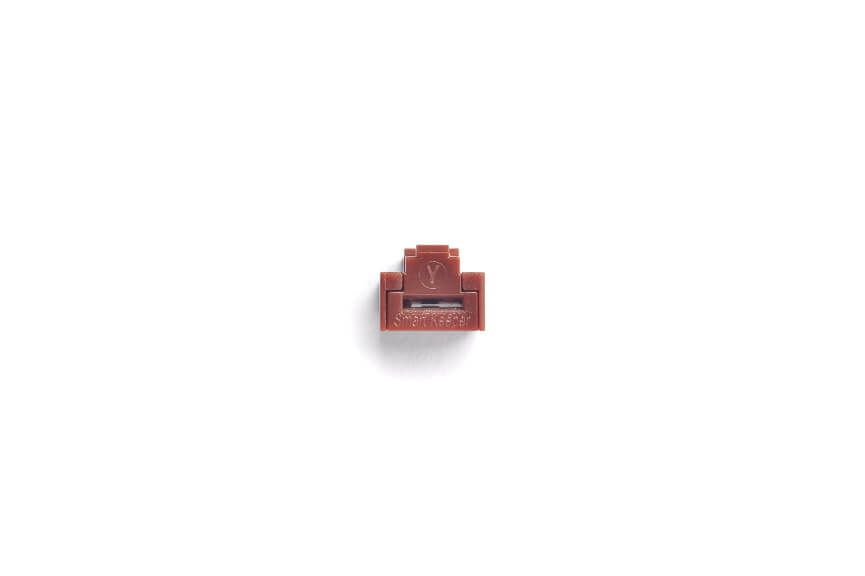 smart keeper essential rj45 port lock brown 100