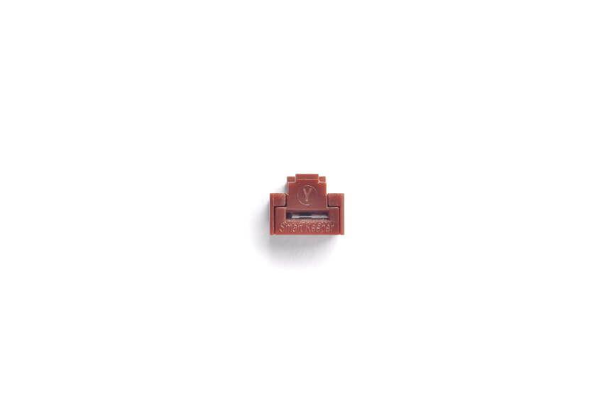smart keeper essential rj45 port lock brown lock key basic brown