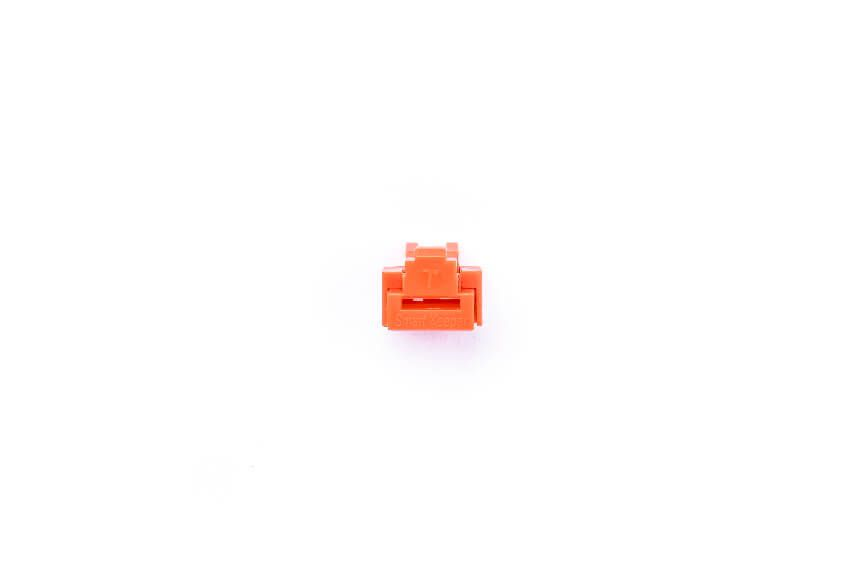 smart keeper essential rj45 port lock orange 100