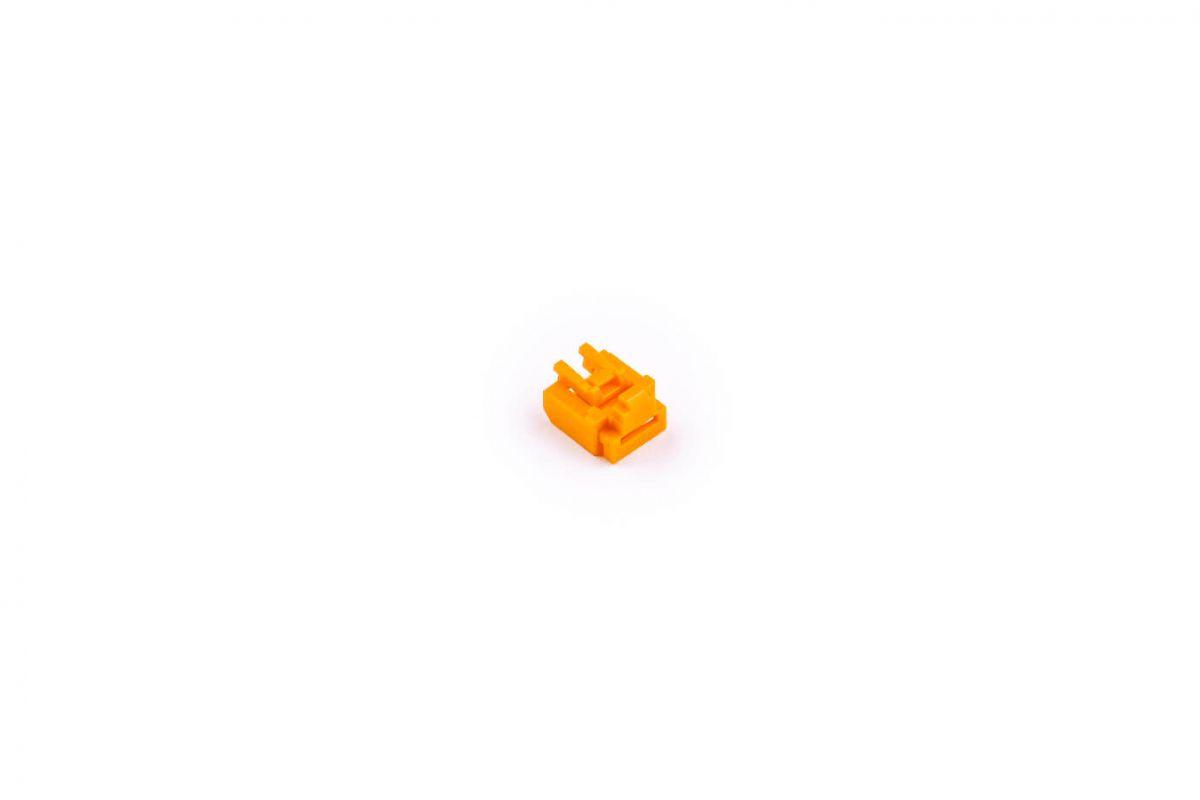 smart keeper essential rj45 port lock oranje lock key basic oranje