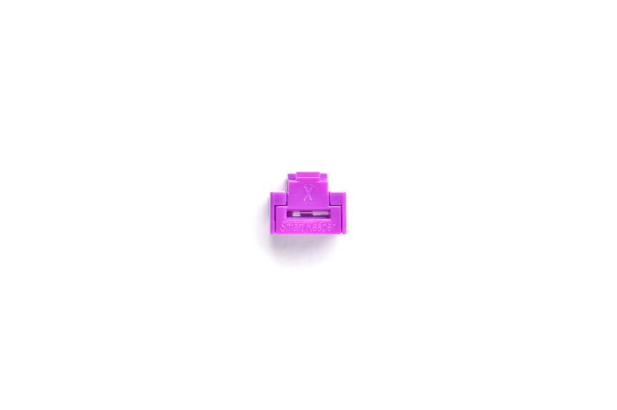 smart keeper essential rj45 port lock purple 100