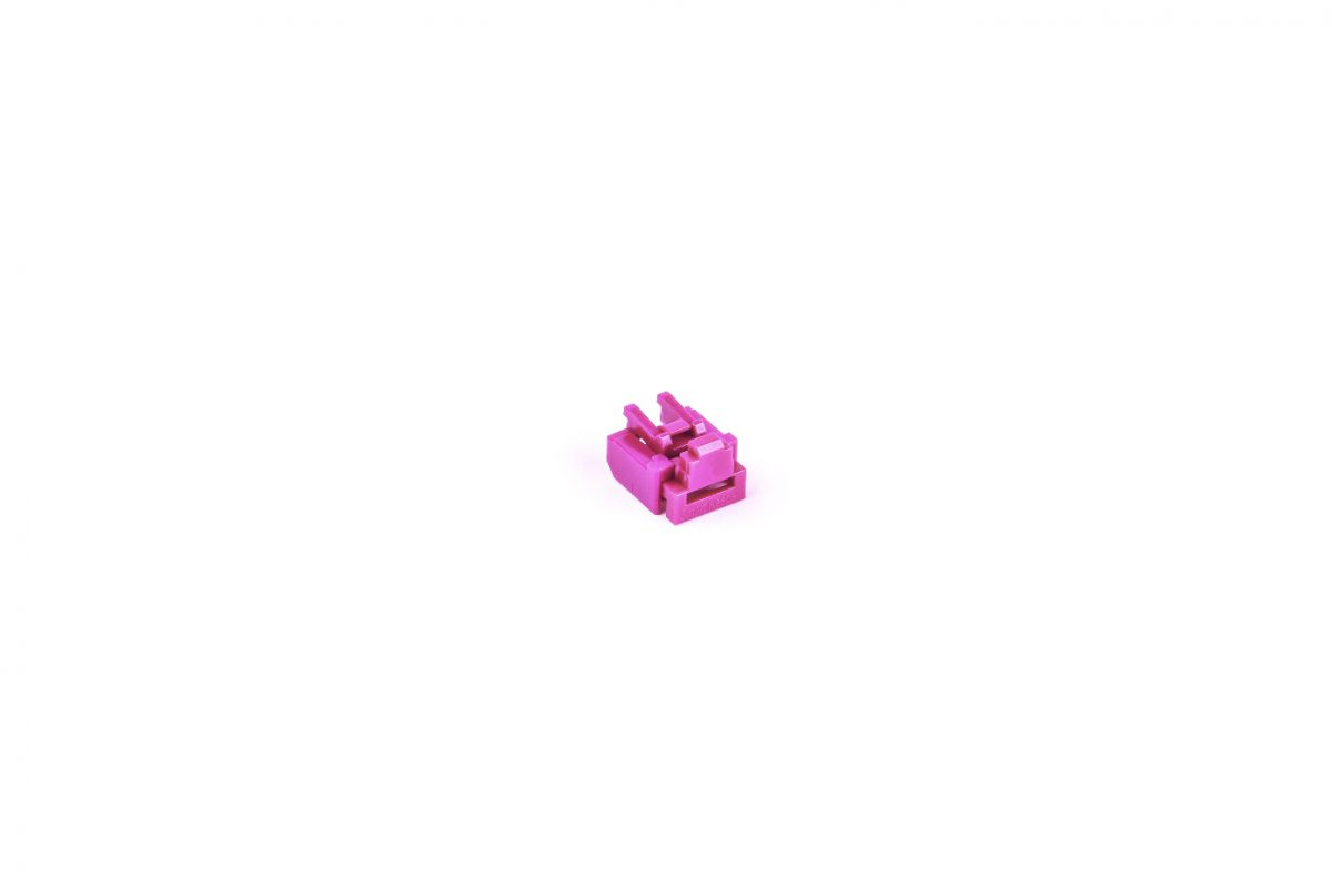smart keeper essential rj45 port lock roze lock key basic roze