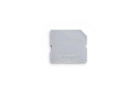 smart keeper essential sd port lock gray