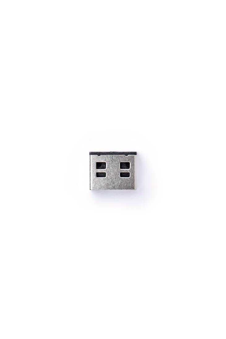 smart keeper essential usba port lock black lock key basic black