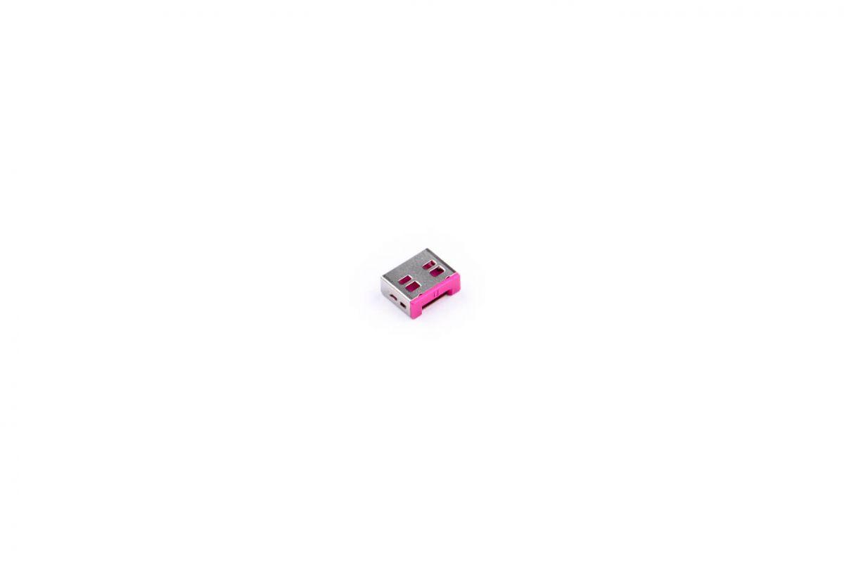 smart keeper essential usba port lock roze lock key basic roze