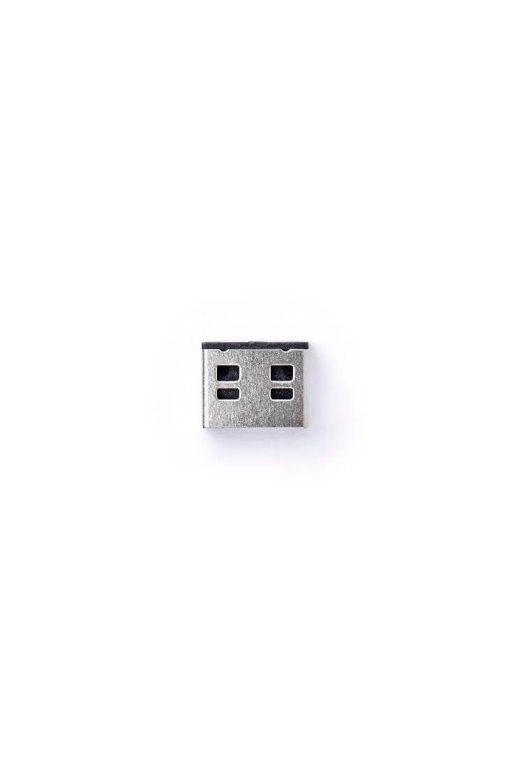 smart keeper essential usba port lock zwart lock key basic zwart
