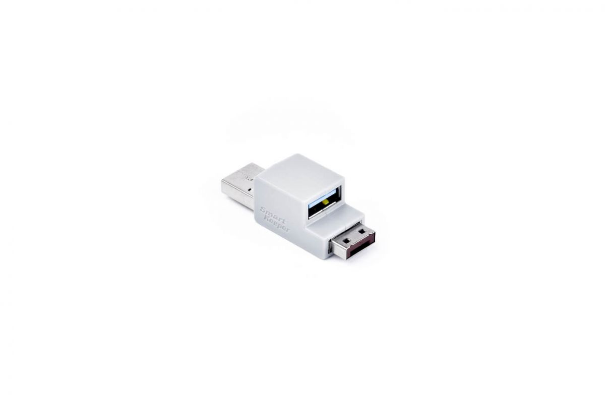 smart keeper essential usb cable lock brown