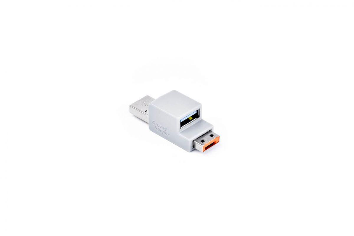 smart keeper essential usb cable lock orange