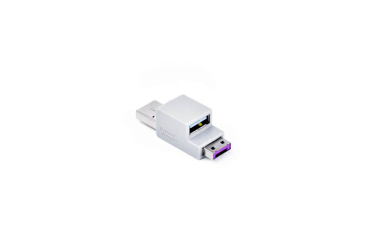 smart keeper essential usb cable lock paars