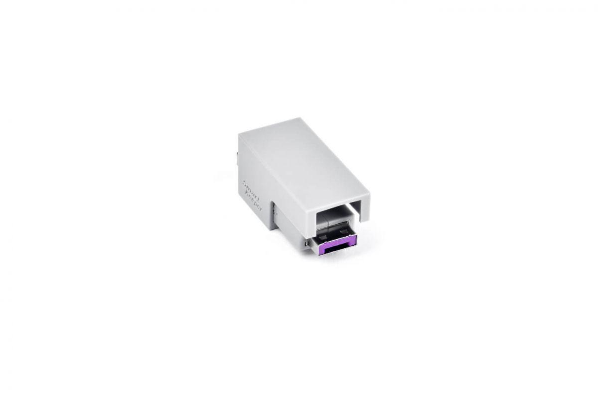 smart keeper essential usb cable lock purple