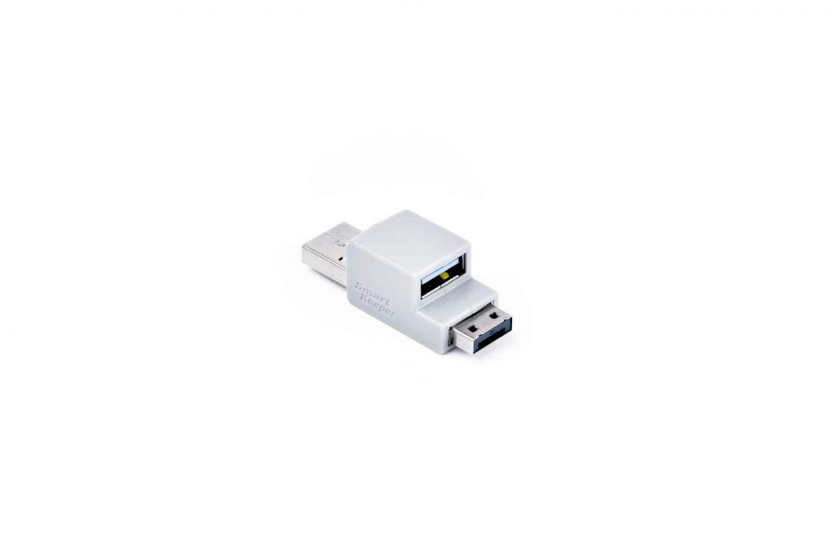 smart keeper essential usb cable lock zwart