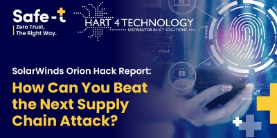 Avoid Supply Chain Attack like SolarWinds Orion? This is the solution.